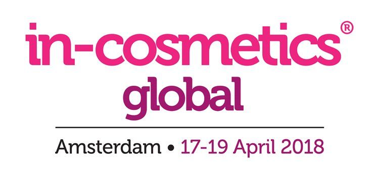 in-cosmetics global 2018 – RAI Amsterdam, Hollanti 17.-19.04.2018
